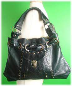 E.D.E Large Teal Gypsy Bag