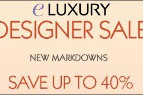 eLuxury Designer Sale