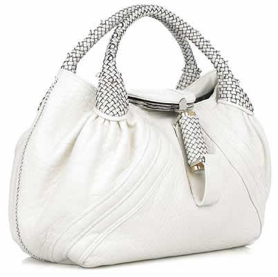 Fendi Ivory Spy Bag