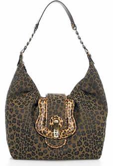 Fendi Leopard B Bag