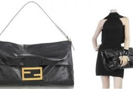 Fendi Patent Shoulder Bag