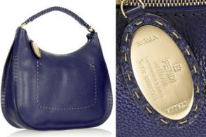 Fendi Selleria Hobo Shoulder Bag