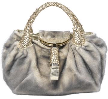 Fendi Spy Fur Handbag