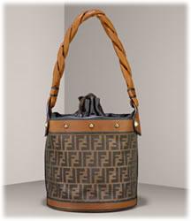 Fendi Zucca Print Palazzo Bucket Bag