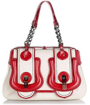 Fendi Canvas B Bag