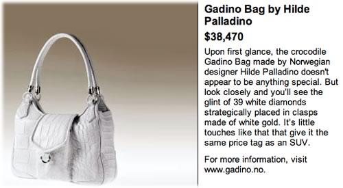 Gadino Bag by Hilde Palladino