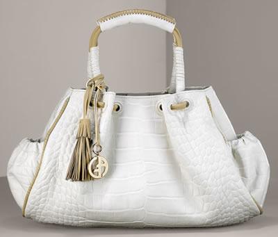 Giorgio Armani Croc Handbag