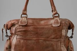 Giorgio Brato Distressed Leather Bag