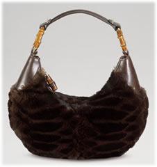 Gucci Rabbit Handbag Medium Hobo