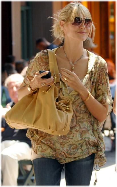 heidi klum handbag style