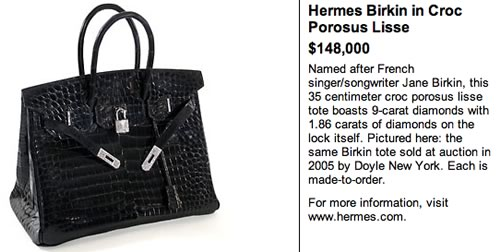 where to buy hermes handbags - Hermes Birkin in Croc Porosus Lisse - PurseBlog
