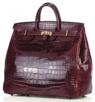 Hermes: сумка Crocodile HAC Birkin.