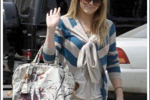 Hilary Duff Prada Fairy Bag