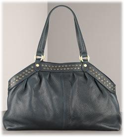 Hogan Waxed Leather Shopper Bag