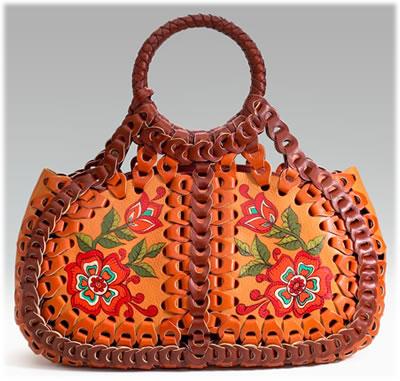 Isabella Fiore April Woven Handbag