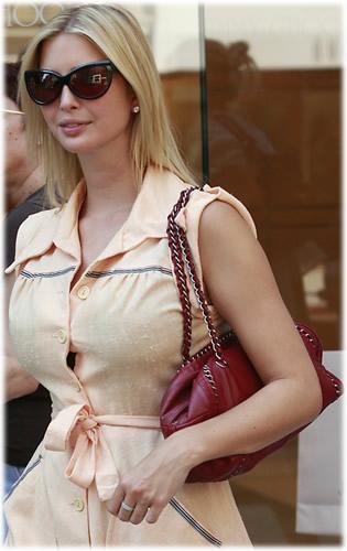 ivanka trump chanel handbag