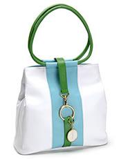 Jana Feifer Round Handle Leather Bag