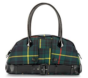 Jean Paul Gaultier Le Prive Tartan Bag