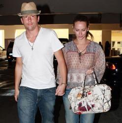 Jennifer Love Hewitt with Prada Fairy Purse