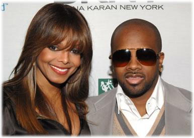 Jermaine Dupris and Janet Jackson
