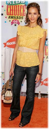 Jessica Alba Coach Bag