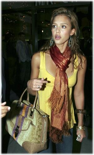 Jessica Alba Name that Bag