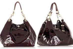 Jimmy Choo Lola Patent Oversized Bag