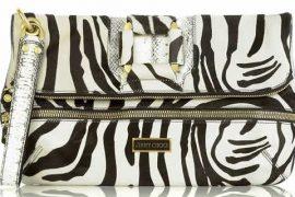 Jimmy Choo Marin Zebra Clutch: Fab or Drab?