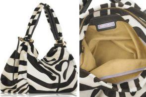 Jimmy Choo Zebra Print Saba