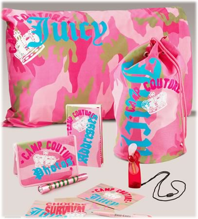 Juicy Couture Camp Survival Kit