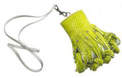 katherine kwei donna pouch lime