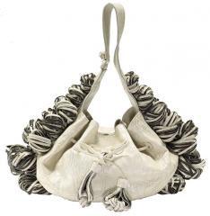 katherine kwei trinty satchel white