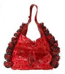 katherine kwei trinty shopper red