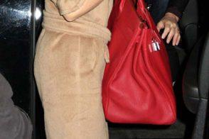 Sonia by Sonia Rykiel Studded Canvas Shoulder Bag