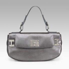 Lambertson Truex Angie Metallic Shoulder Bag