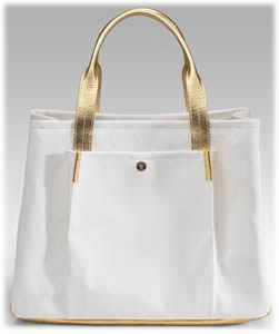 Lambertson Truex Bradley Canvas and Leather Tote - PurseBlog
