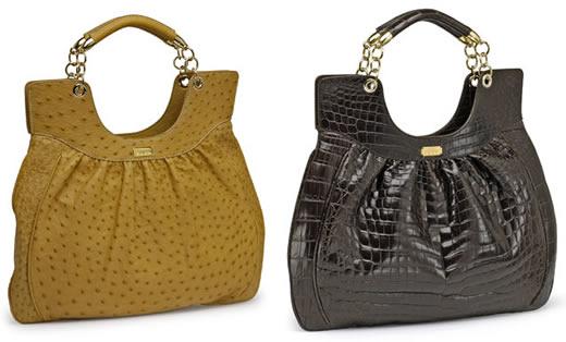 Lambertson Truex Nicole Python Bag