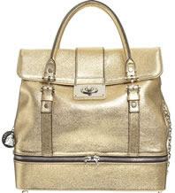 Lanvin Metallic Montrogueil Handbag