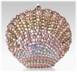 Leiber Crystal Shell Pillbox