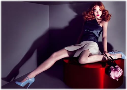 Lindsay Lohan Miu Miu Ad Campaign2