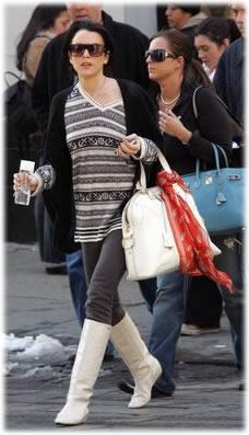 Name Lindsay Lohan White Bag