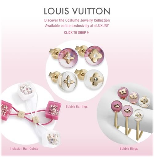 Louis Vuitton Costume Jewelry Collection