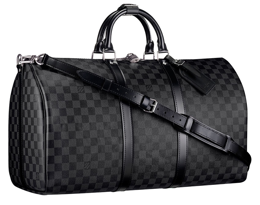 new louis vuitton damier graphite purseblog. Black Bedroom Furniture Sets. Home Design Ideas