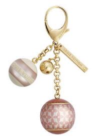 louis vuitton mini lin croisette keychain