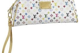 Louis Vuitton Mini Monogram Multicolore Kate Clutch
