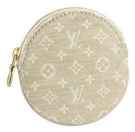 Louis Vuitton Monogram Mini Lin Porte Monnaie Rond