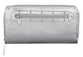 Louis Vuitton Suhali Metallic Zippy Wallet