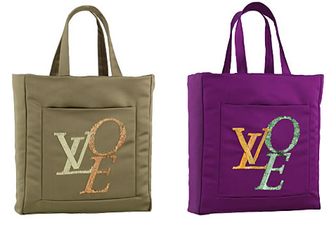 Louis Vuitton Thats Love Satin Tote