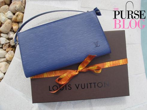 Louis Vuitton Epi Alma and Epi Pochette Accessories