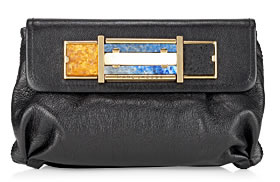 marc jacobs collection stones clutch